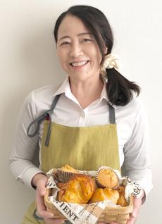愛知県瀬戸市のパン教室 MocoMocoKitchen 主宰 井上智子